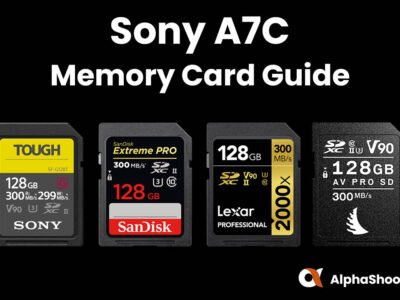 Sony A7C Memory Cards