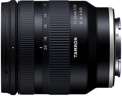 Tamron 11–20mm F2.8 Di III-A RXD
