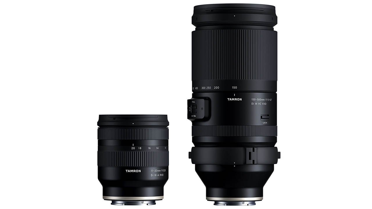 Tamron APS-C 11-20mm F2.8 and FE 150-500mm F5–6.7 Lenses