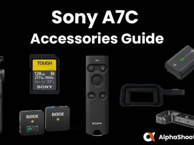 Sony A7C Accessories
