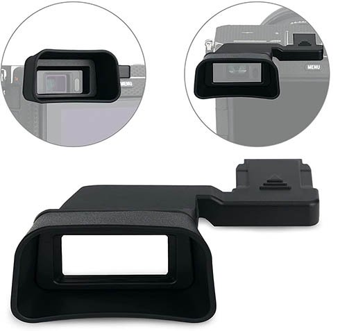 Kiwifotos Soft Silicone Extended Eyecup Eye Cup