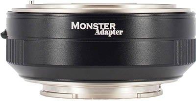 Monster LA-FE1 Nikon F to Sony E Adapter