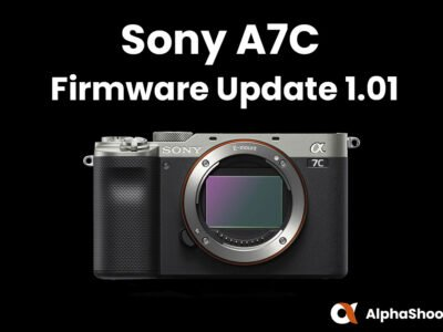 Sony A7C Firmware Update