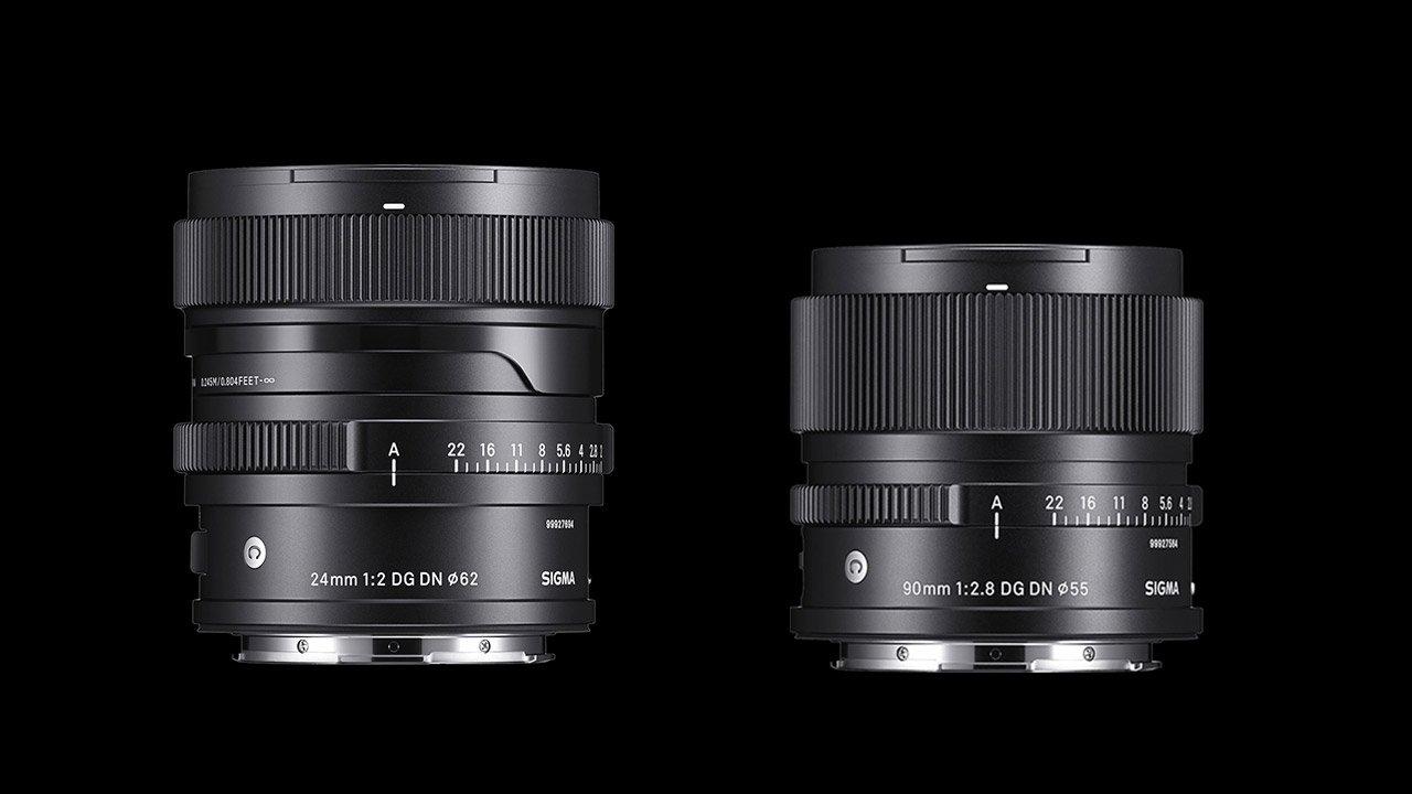 Sigma Announces 24mm F2 DG DN and 90mm F2.8 DG DN Contemporary Lenses