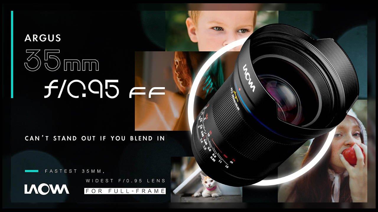Venus Optics Laowa Argus 35mm F0.95 Lens