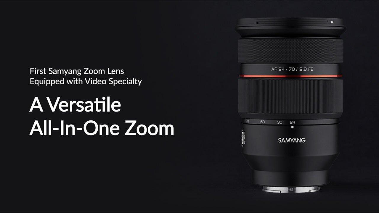 Samyang AF 24-70mm F2.8 FE Par-focal Lens