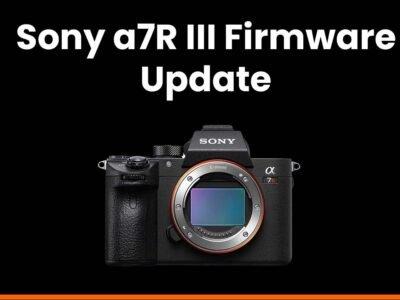 sony a7riii firmware update