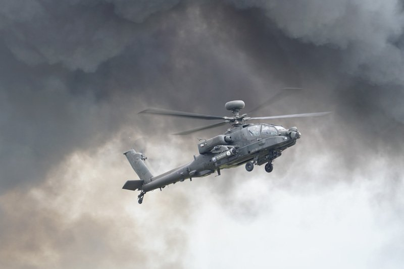 Apache Attack Helicopter taken with Sony a6500 and SEL70300G Lens