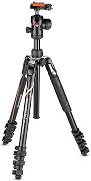manfrotto befree sony alpha mkbfrla-bh tripod