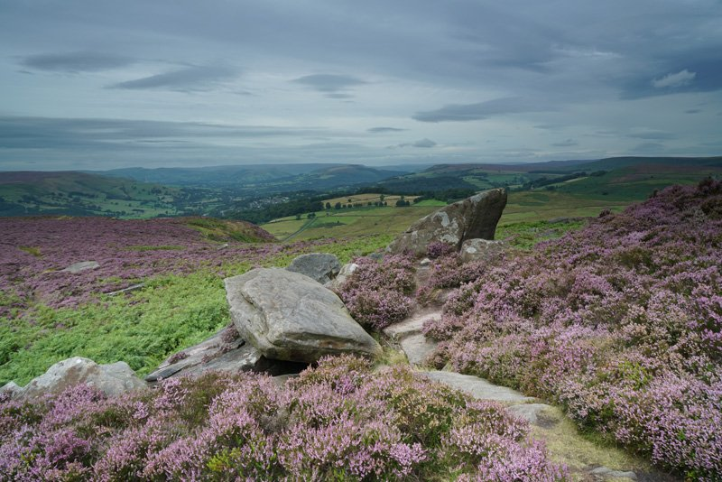 Peak District taken with Sony a7R II and SEL2470Z Lens