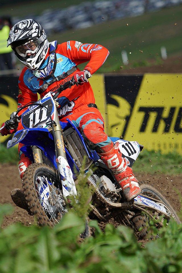 Motocross bike shot with the Sony SEL100400GM lens