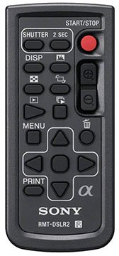 sony rmt-dslr2 remote for sony a7riv